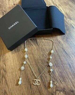 £500 • Buy Brand New CC CHANEL Necklace Choker - Authentic From Shop