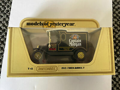 £2.50 • Buy Y-12 1912 Ford Model T. Captain Morgan. Large Letters On Door. Models Of Yestery