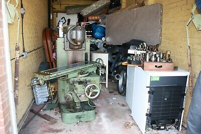 £1500 • Buy MILLING MACHINE FRITZ WERNER 3ph FULLY EQUIPPED