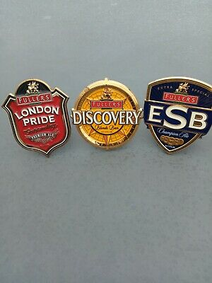 £9 • Buy Fullers London Pride, Discovery And ESB Beer/Ale Pump Clips. Home Bar. New
