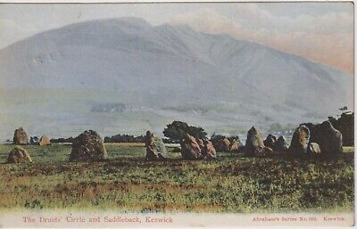 £1.35 • Buy LAKE DISTRICT - 1906 Postcard Of The Druids Circle, KESWICK.   Posted Locally