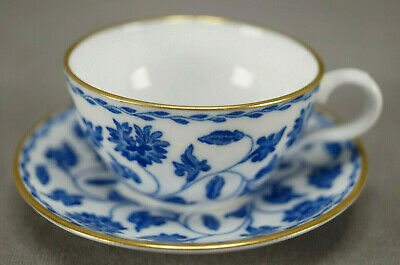 £14.55 • Buy Spode Copeland Colonel Pattern Blue & White Bone China Miniature Cup & Saucer