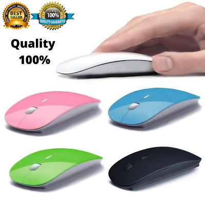 £3.19 • Buy 2.4 GHz Wireless Cordless Mouse Mice Optical Scroll For PC Laptop Computer + USB