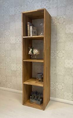 £59.95 • Buy ***clearance *** Ex Display *** Wood Effect Tall Storage Cube Shelving Unit