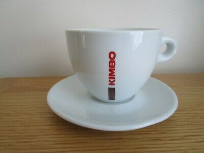 £5 • Buy KIMBO Large Cappuccino/Latte Coffee Cup & Saucer