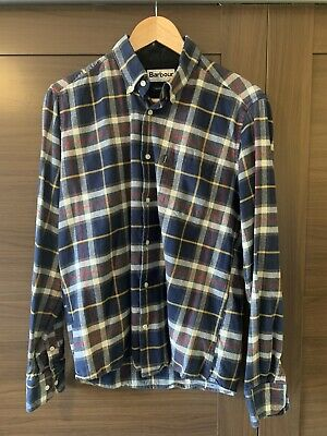 £15 • Buy Barbour Castlebay Casual Shirt Size Medium Tailored Fit