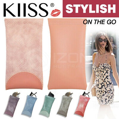 AU6.56 • Buy Mouth Snapped Sunglasses Eyeglass Glasses Case Soft Pouch Bag Pocket Spectacle
