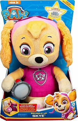 £19.99 • Buy Spin Master Paw Patrol Snuggle Up Skye Plush With Torch And Sounds Fun Children