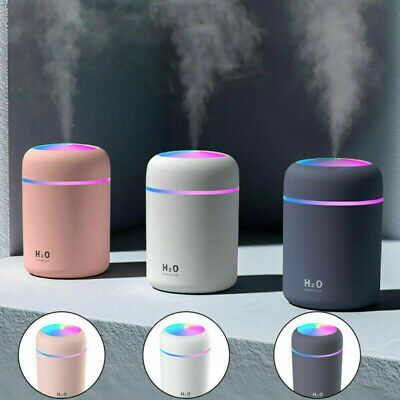£8.49 • Buy 300ml LED Light UP Air Oil Aroma Diffuser Humidifier Electric Home Room Purifier