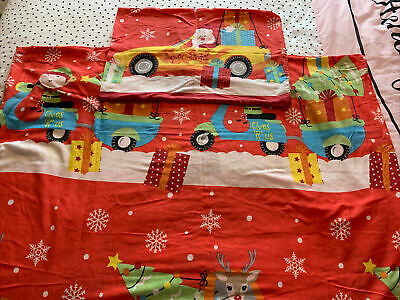 £3 • Buy Cot Bed Christmas Bedding And Pillowcase