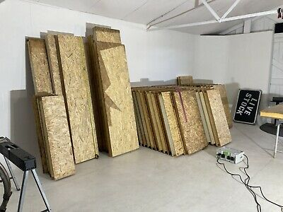 £1200 • Buy SIP/STRUCTURAL INSULATED PANELS/LARGE 100mm THICK OFFCUTS JOBLOT