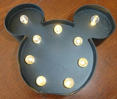 £2.99 • Buy Disney, Mini Shaped Marquee Lights. Battery Operated