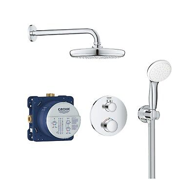 £464.96 • Buy Grohe Tempesta 210 Concealed Thermostatic Mixer Shower With Ceiling Shower Head