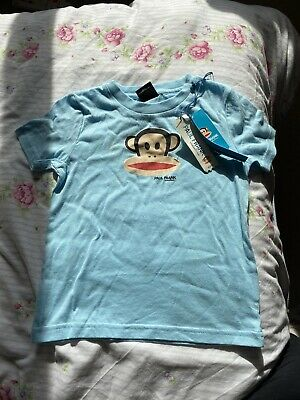 £0.99 • Buy Paul Frank Industries Blue Tshirt Brand New With Tags 100% Cotton