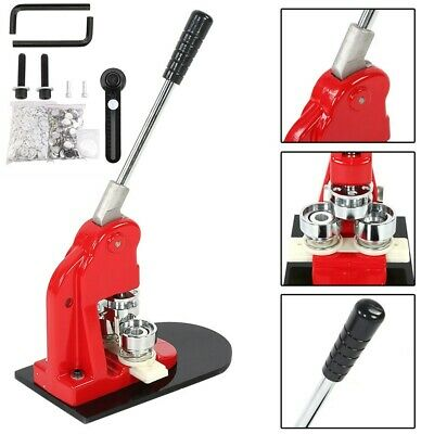 £131.19 • Buy 58mm Badge Punch Press Maker Machine With 1000 Button + Circle Cutter Kit - UK