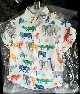 £2.99 • Buy Brand New Boys Animal Short Sleeved Shirt By Blue Zoo Age 2-3 Years