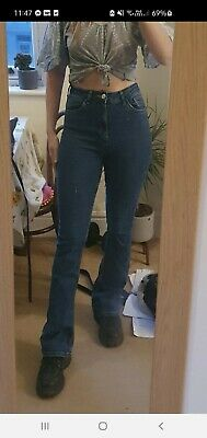 £15 • Buy Urban Outfitters High Waisted Flare Jeans Size 28w. 32L