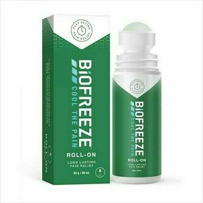 £9.99 • Buy Biofreeze Pain Relieving Roll-On 89g For Long Lasting Pain Relief -Cool The Pain