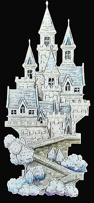 £3.20 • Buy Die Cuts, Carnation Crafts, Fairy Tale Days Castle Paper Crafts
