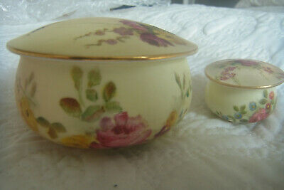 £19 • Buy Royal Worcester Trinket And Pill Boxes