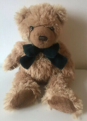 £8.99 • Buy Keel Toys Teddy Bear Green Bow Tie Soft Plush Toy 14  Simply Soft Collection