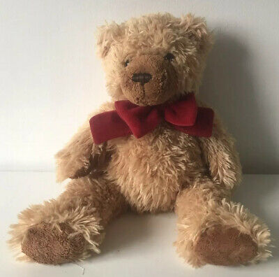 £8.99 • Buy Keel Toys Teddy Bear Red Bow Tie Soft Plush Toy 14  Simply Soft Collection