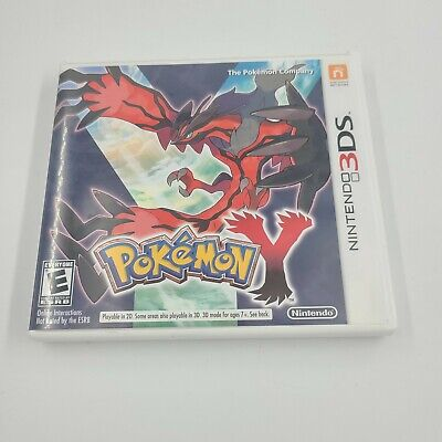 $39.99 • Buy Pokemon Y (Nintendo 3DS, 2013) Case With Manual Only. **no Disc