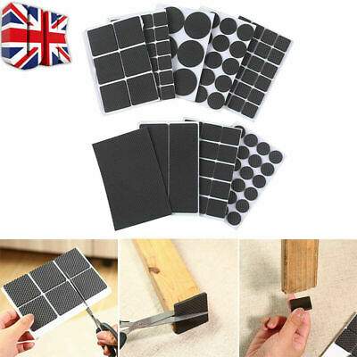 £2.99 • Buy Non Slip Self Adhesive Floor Protectors Chair Leg Pads Table Rubber Pads Feet