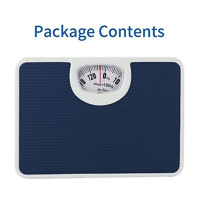 £12.99 • Buy 130kg Bathroom Scales Accurate Mechanical Dial Weighing Scale Non-Slip Mat Uk