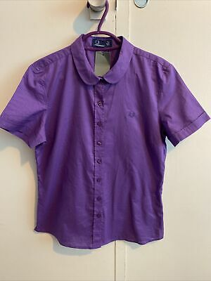 £0.99 • Buy Womens Fred Perry Shirt Size 12
