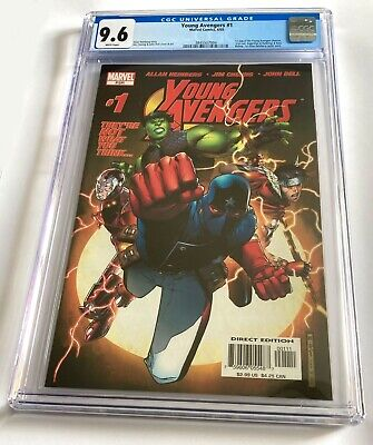 £435 • Buy YOUNG AVENGERS #1 CGC 9.6 First Print, Key Issue, First Appearances, Marvel
