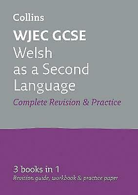 £7.39 • Buy WJEC GCSE Welsh Second Language All-in-One Revision And Practice (Collins GCSE R