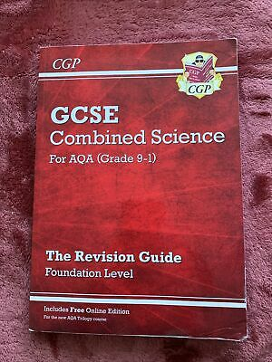 £0.99 • Buy CGP GCSE Combined Science For AQA Level Grade 9-1 Revision Guide Foundation