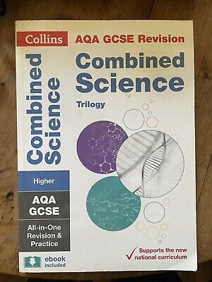 £1.10 • Buy Collins AQA GCSE 9-1 Combined Science Trilogy Complete Revision And Practice