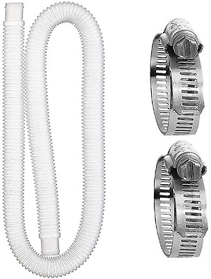 £14.78 • Buy Cdemiy Swimming Pool Hose Hose, Hose For Above Ground Pools, With 2 Metal Connec