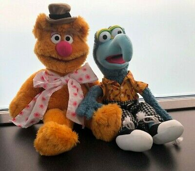 £72.99 • Buy Catric (Igel)The Muppets Fozzie Bear & Gonzo Large Soft Toys Plush 18  Approx