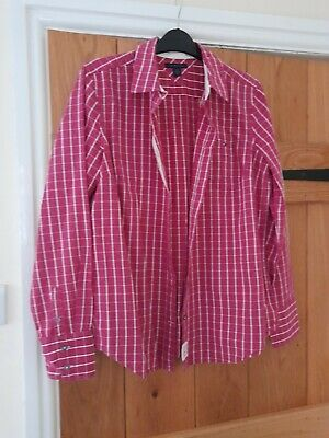 £1.50 • Buy Tommy Hilfiger Shirt Womens Pink (more A Size 10/12)