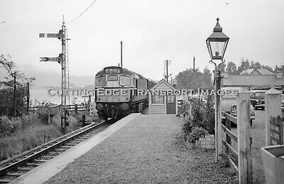£3.99 • Buy 6 X 9 Railway Negative: Class 26/27 At Corpach, West Highland July 1964   30/294