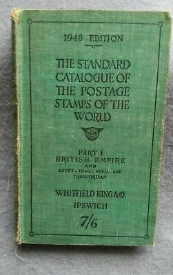 £4 • Buy THE STANDARD CATALOGUE OF THE POSTAGE STAMPS OF THE WORLD 1948 Edition PART 1.
