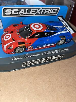 £90 • Buy Scalextric RARE Hard To Find Collectors CarC3769 Ford Daytona Prototype2015 24hr