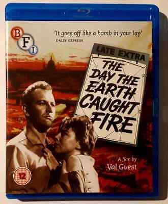 £8.99 • Buy The Day The Earth Caught Fire (1961) - Edward Judd - Region B Blu Ray - Booklet