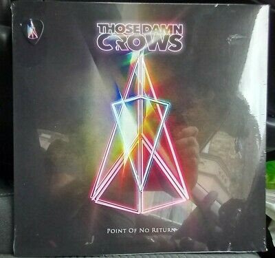 £11 • Buy Those Damn Crows Point Of No Return Vinyl - New And Sealed With Guitar Pick