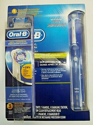 AU110.38 • Buy Braun Oral-b Electric Rechargeable  Professional Care Cleaning Toothbrush 3000