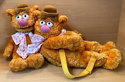 £44.99 • Buy Disney Store Stamped Muppets Fozzie Bear Soft Toy Plush & Fozzie Backpack Bundle