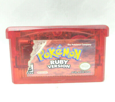 $64.99 • Buy Pokemon Ruby Dry Battery For Nintendo Gameboy Advance GBA Worn Label Authentic
