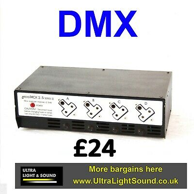 £39.99 • Buy 4 Channel Dimmer Used Stage Lighting Theatre Dmx Suit Zero 88 Or Strand