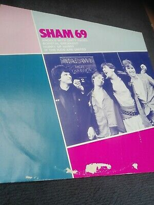 £3 • Buy Sham 69 12 Inch - Angels With Dirty Faces, Borstal, Kids Are United, Hurry Up