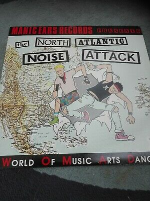 £10 • Buy North Atlantic Noise Attack - Manic Ears Double Lp Compilation - Punk