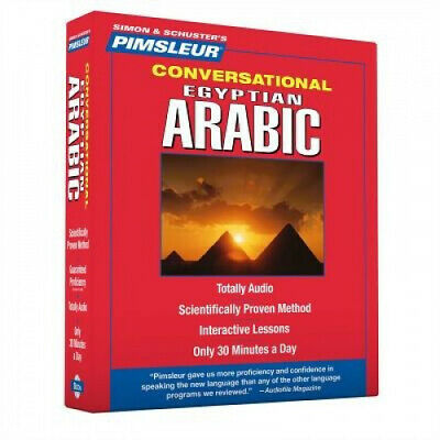 £35.90 • Buy Pimsleur Arabic (Egyptian) Conversational Course - Level 1 Lessons 1-16 CD: