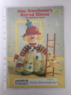 £4.50 • Buy Vintage Jean Greenhowe Knitting Book Double Knit Doll Toy Teddy Patterns Booklet